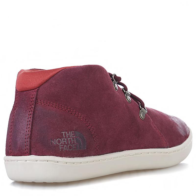 Купить мужские вишневые, белые  ботинки base camp leather chukka в магазинах Streetball изображение - 2 картинки