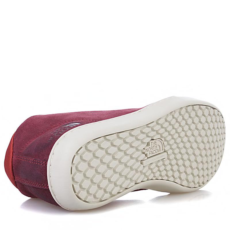 Купить мужские вишневые, белые  ботинки base camp leather chukka в магазинах Streetball изображение - 4 картинки