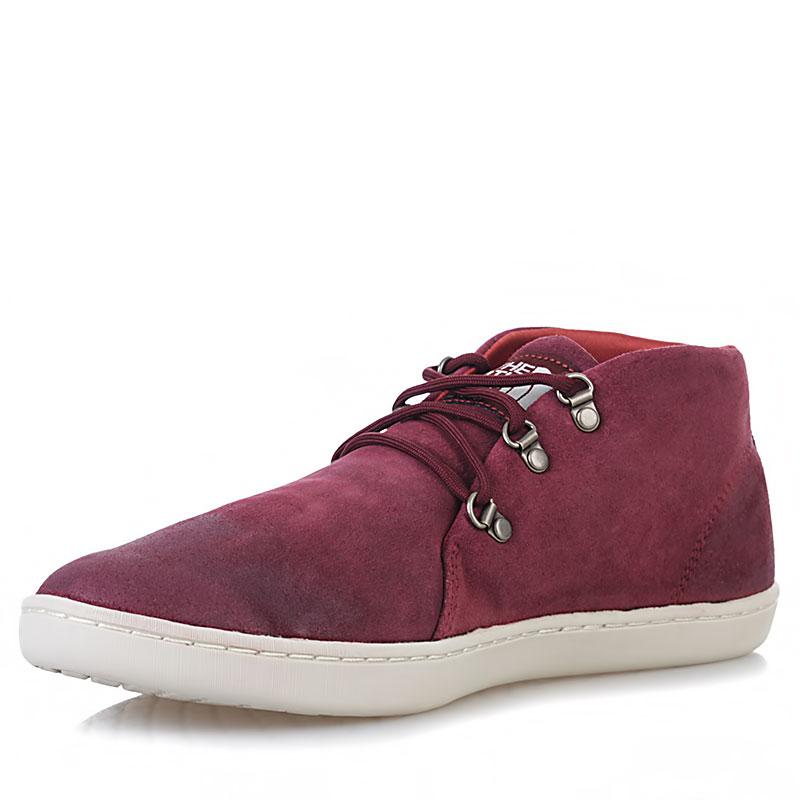 Купить мужские вишневые, белые  ботинки base camp leather chukka в магазинах Streetball изображение - 3 картинки