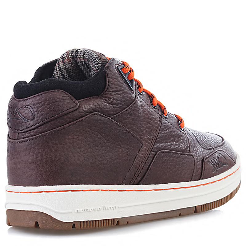 Купить мужские коричневые, белые, оранжевые  ботинки k1x allxs sport le в магазинах Streetball изображение - 2 картинки