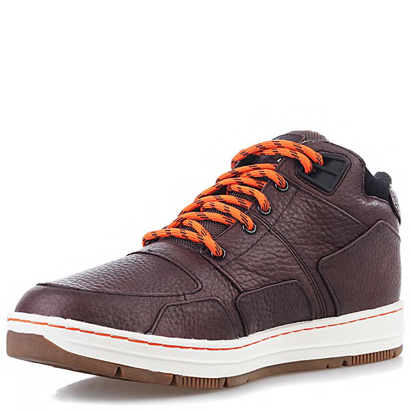Купить мужские коричневые, белые, оранжевые  ботинки k1x allxs sport le в магазинах Streetball изображение - 4 картинки