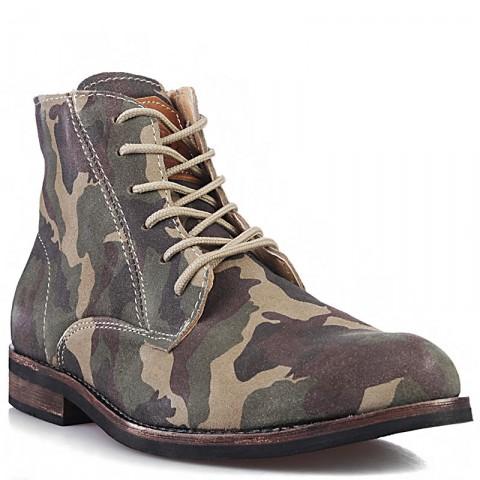 Купить мужские камуфляжные  ботинки jack porter jack в магазинах Streetball - изображение 1 картинки