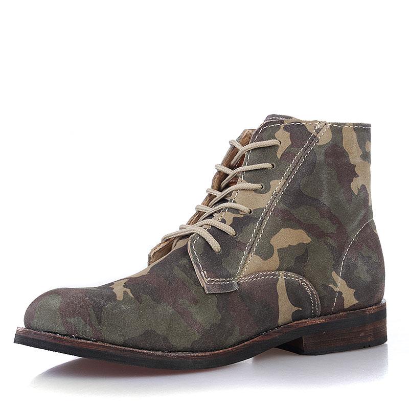Купить мужские камуфляжные  ботинки jack porter jack в магазинах Streetball изображение - 2 картинки