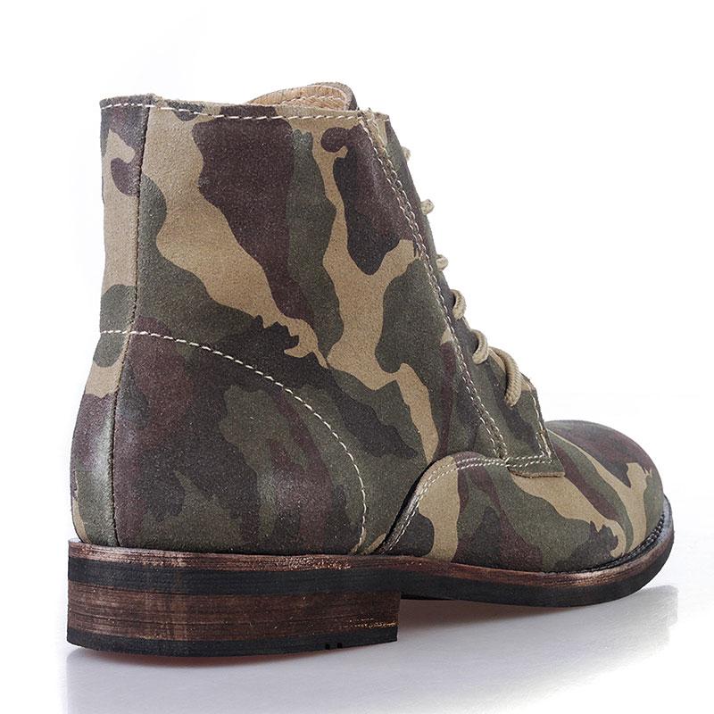 Купить мужские камуфляжные  ботинки jack porter jack в магазинах Streetball изображение - 3 картинки