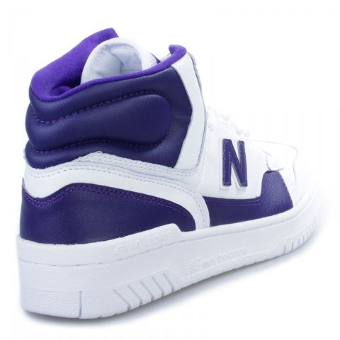 мужские белые, фиолетовые  кроссовки new balance p740la james worthy 'la' P740LA/D - цена, описание, фото 2