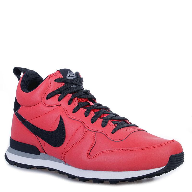 separation shoes d4a0e 30caf мужские красные, черные кроссовки nike internationalist mid qs 696424-600 -  цена, описание