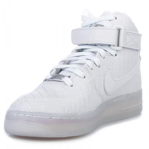 женские белые  кроссовки nike wmns air force 1 hi fw qs 704010-001 - цена, описание, фото 3