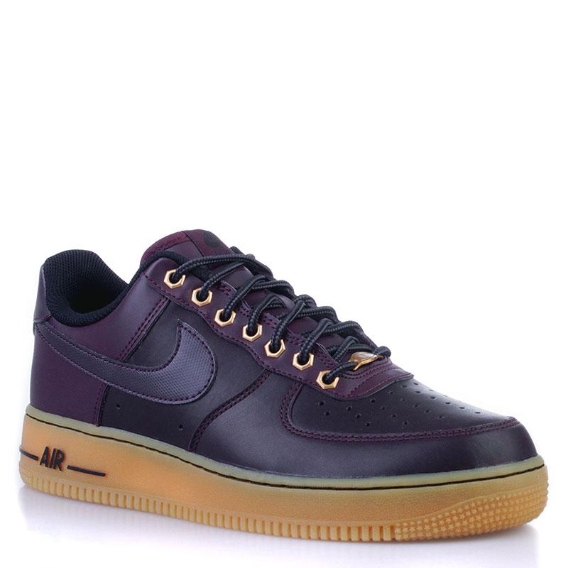 865c7db3 мужские фиолетовые кроссовки nike air force 1 488298-621 - цена, описание,  фото