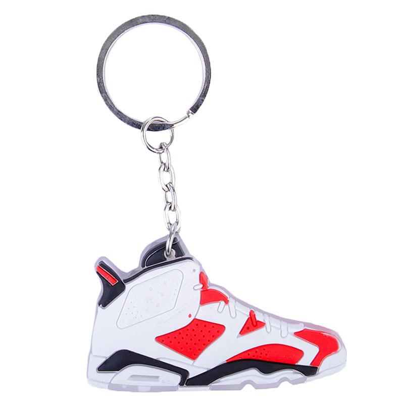 Брелок Jordan AJ6 AJ6-white/carmine - цена, описание, фото 1