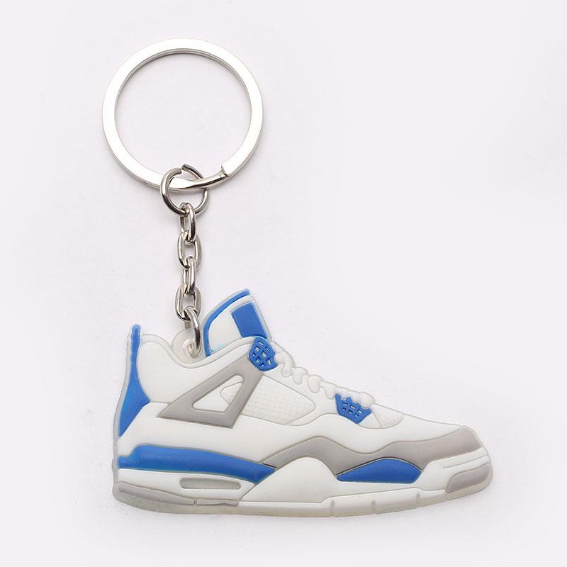 Брелок Jordan AJ4 AJ4-white/blue - цена, описание, фото 1