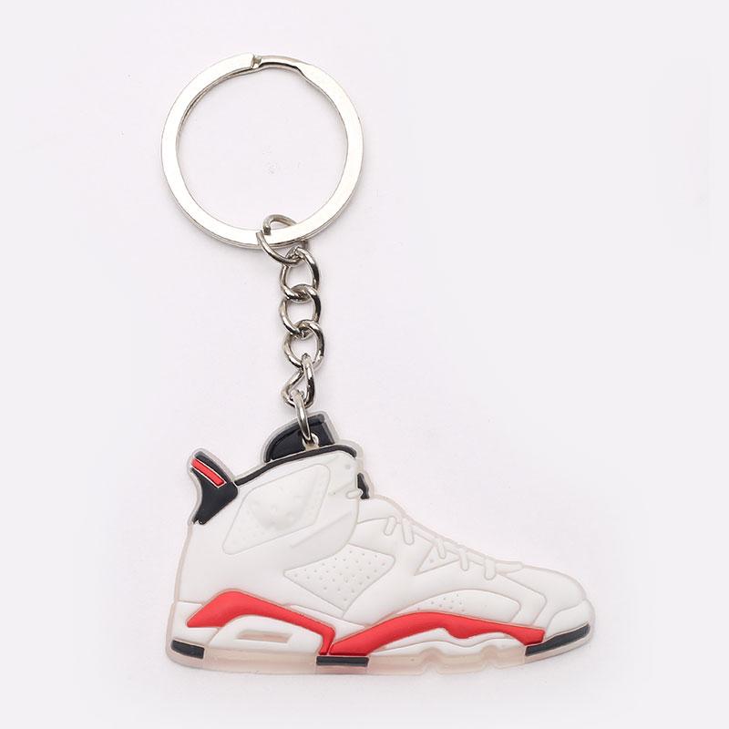 Брелок Jordan AJ6 AJ6-white/red - цена, описание, фото 1