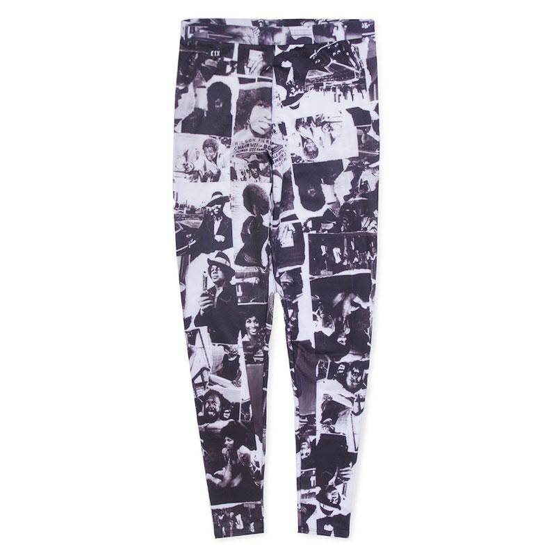 Леггинсы K1X Whoop Whoop LegginsБрюки и джинсы<br>90% полиэфир 10% эластан<br><br>Цвет: Черный, белый<br>Размеры US: L<br>Пол: Женский