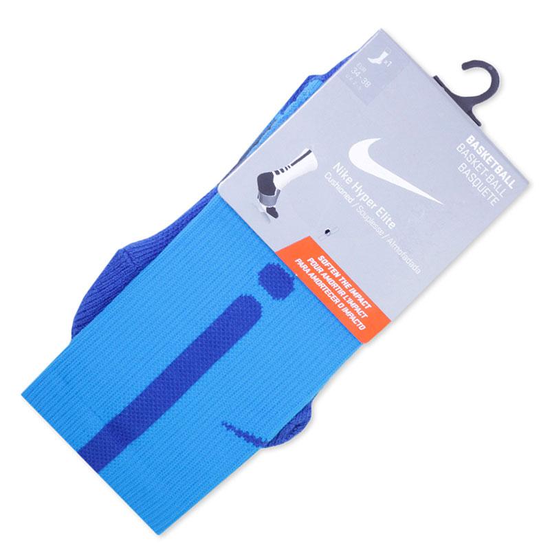 Носки Nike Hyper Elite CrewНоски<br><br><br>Цвет: Синий<br>Размеры US: S;M;L;XL<br>Пол: Мужской