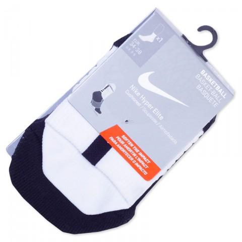 мужские белые, черные  носки nike SX4852-108 - цена, описание, фото 1