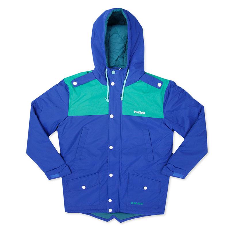 Куртка True Spin FishtailКуртки, пуховики<br>100% полиэстер<br><br>Цвет: Синий<br>Размеры : S