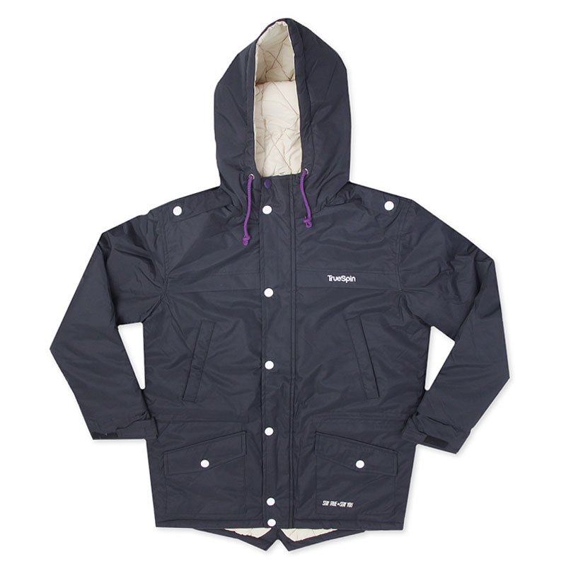 Куртка True Spin FishtailКуртки, пуховики<br>100% полиэстер<br><br>Цвет: Черный<br>Размеры : S