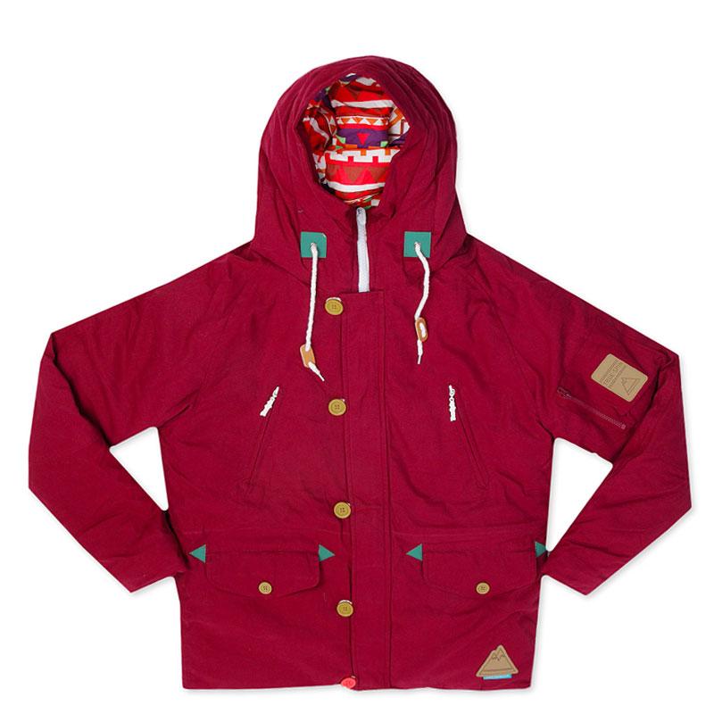 Куртка True Spin AlaskaКуртки, пуховики<br>100% полиэстер<br><br>Цвет: Красный, бежевый<br>Размеры : XS;M;L<br>Пол: Мужской