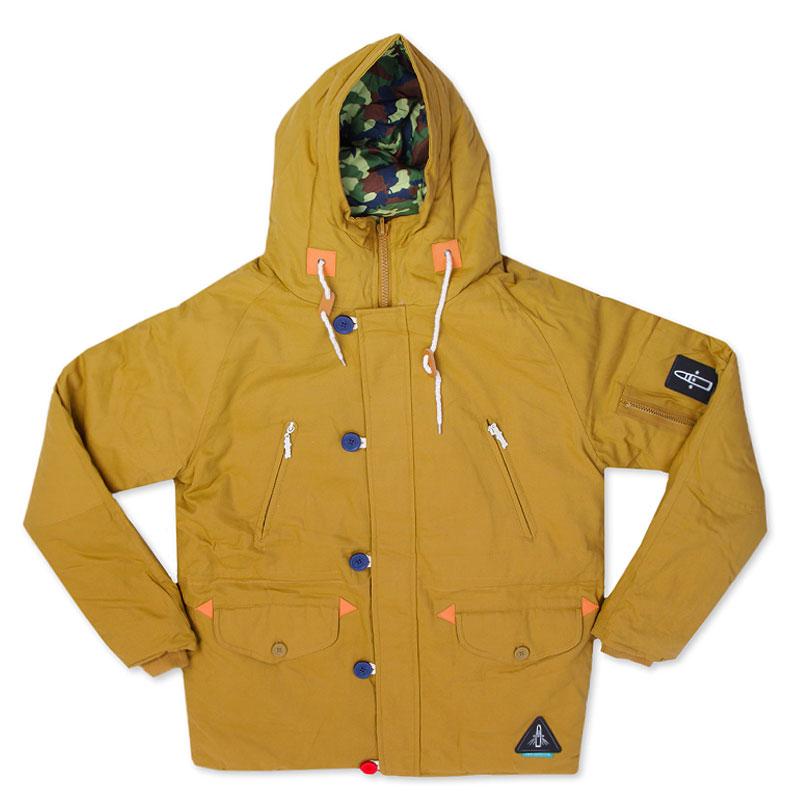Куртка True Spin AlaskaКуртки, пуховики<br>100% полиэстер<br><br>Цвет: Коричневый, зеленый, синий<br>Размеры : S<br>Пол: Мужской