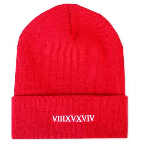 мужскую красную  шапка true spin Doper-red - цена, описание, фото 1