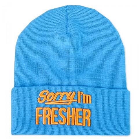 мужскую голубую  шапка true spin Sorry-trqs-orng - цена, описание, фото 1