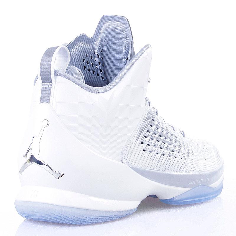 Купить мужские белые  кроссовки jordan melo m11 в магазинах Streetball изображение - 2 картинки