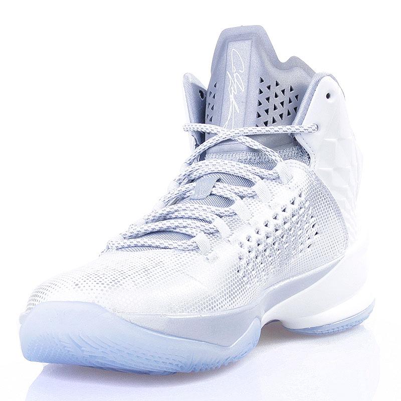 Купить мужские белые  кроссовки jordan melo m11 в магазинах Streetball изображение - 3 картинки