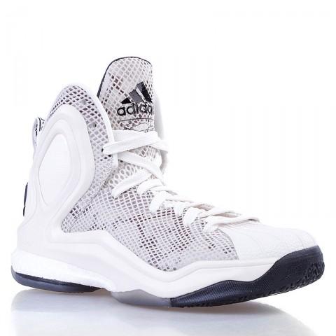 мужские бежевые  кроссовки adidas d rose 5 boost og C77249 - цена, описание, фото 1