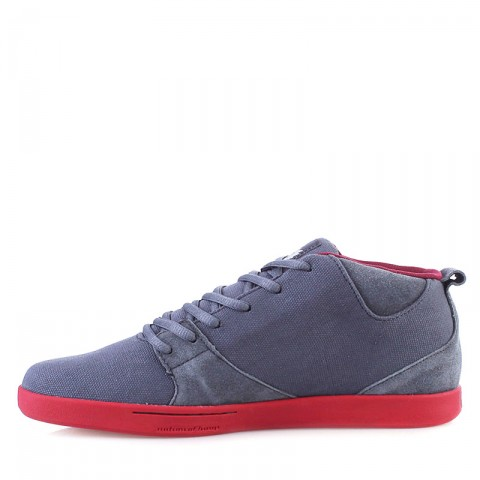 мужские серые, красные  кроссовки k1x schnitzel te 1000-1179/8648 - цена, описание, фото 3