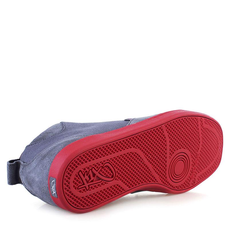 мужские серые, красные  кроссовки k1x schnitzel te 1000-1179/8648 - цена, описание, фото 4