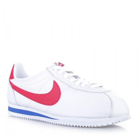 Купить мужские белые  кроссовки nike classic cortez premium qs в магазинах Streetball - изображение 1 картинки