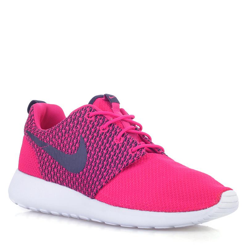 мужские розовые, черные  кроссовки nike rosherun 511881-662 - цена, описание, фото 1
