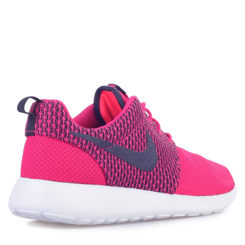 мужские розовые, черные  кроссовки nike rosherun 511881-662 - цена, описание, фото 2