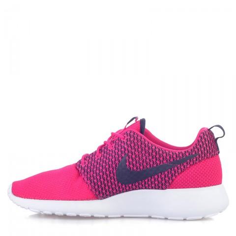 мужские розовые, черные  кроссовки nike rosherun 511881-662 - цена, описание, фото 3