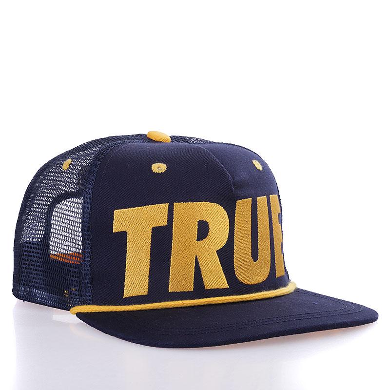 Кепка True Tr-blackКепки<br>Акрил<br><br>Цвет: Синий, желтый<br>Размеры : OS