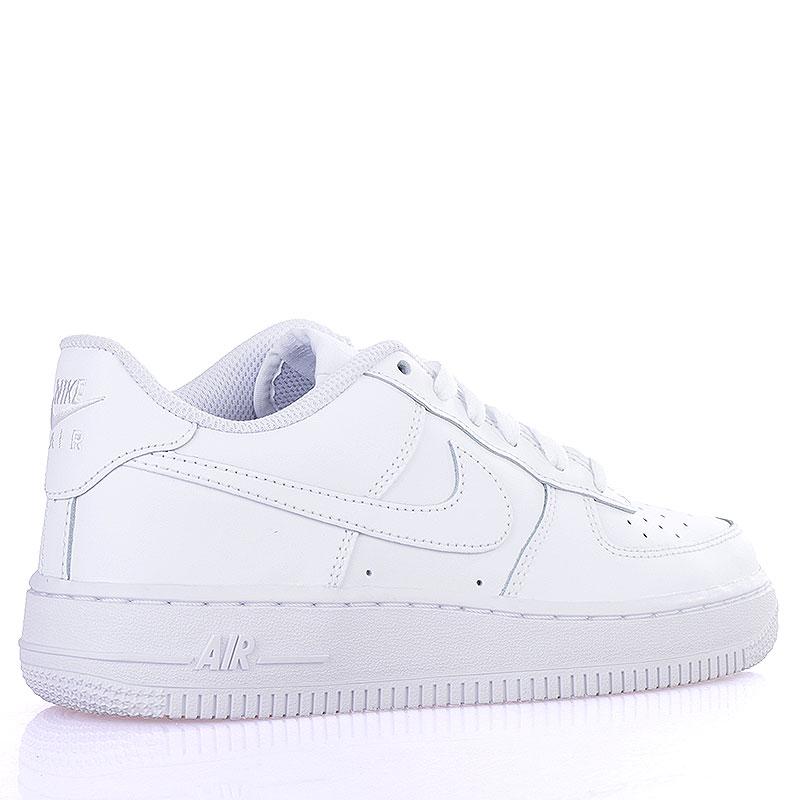 Купить детские белые  кроссовки nike air force 1 (gs) в магазинах Streetball изображение - 2 картинки