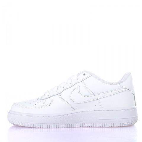 Купить детские белые  кроссовки nike air force 1 (gs) в магазинах Streetball - изображение 3 картинки