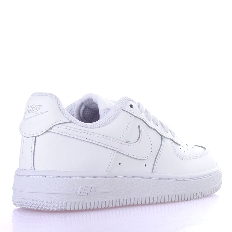 Купить детские белые  кроссовки nike air force 1 (ps) в магазинах Streetball изображение - 2 картинки