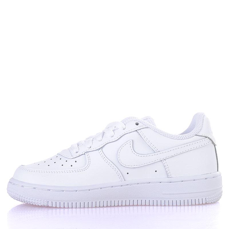 Купить детские белые  кроссовки nike air force 1 (ps) в магазинах Streetball изображение - 3 картинки