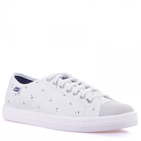 Купить мужские белые  кроссовки badminton 68 в магазинах Streetball - изображение 1 картинки