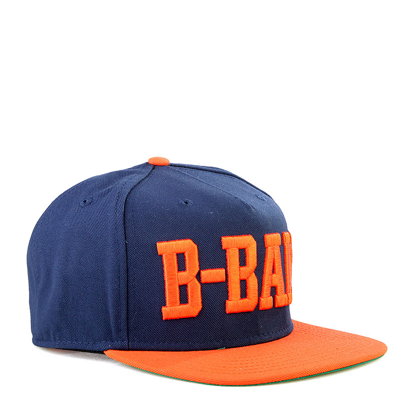 Кепка K1X B-Ball SnapbackКепки<br>Полиэстер<br><br>Цвет: Синий, оранжевый<br>Размеры US: one;OS<br>Пол: Мужской