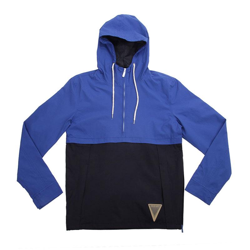 АноракКуртки, пуховики<br>Нейлон, полиэстер<br><br>Цвет: Синий, чёрный<br>Размеры : L<br>Пол: Мужской