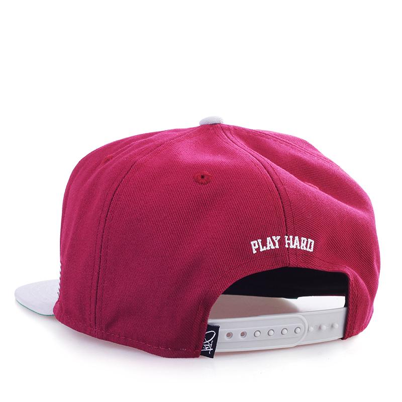 мужскую бордовую, серую  кепка 1800-0261/6808 - цена, описание, фото 2