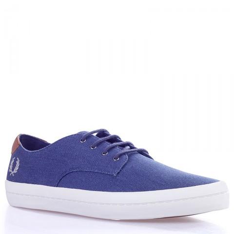 Купить мужские синие, белые  кеды savitt в магазинах Streetball - изображение 1 картинки