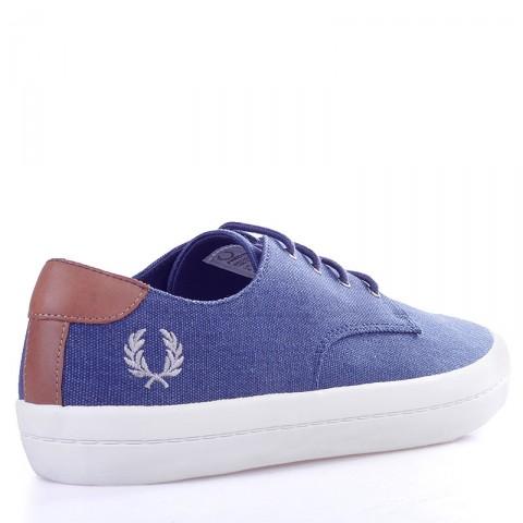 Купить мужские синие, белые  кеды savitt в магазинах Streetball - изображение 2 картинки