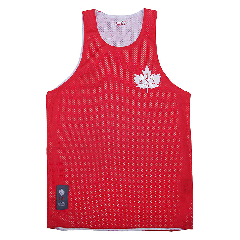 Майка K1X Core Reversible Crest JerseyБезрукавки<br>Полиэстер<br><br>Цвет: Красный, белый<br>Размеры US: S;M;2XL<br>Пол: Мужской