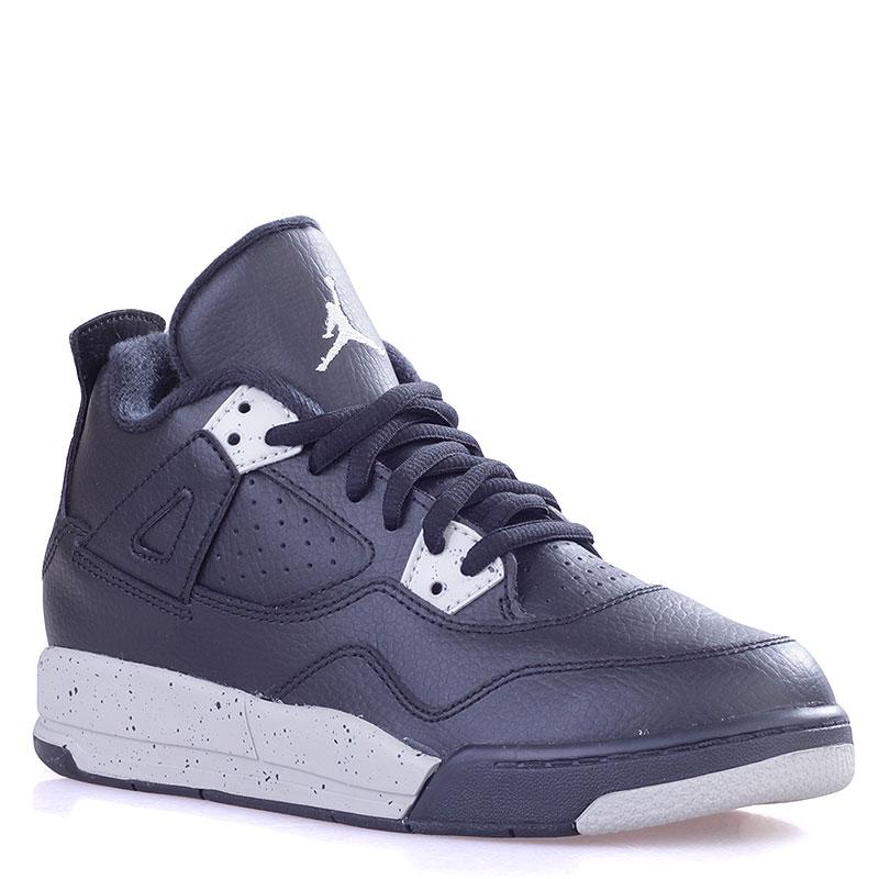 Купить детские черные  кроссовки jordan iv retro ls bp в магазинах Streetball изображение - 1 картинки