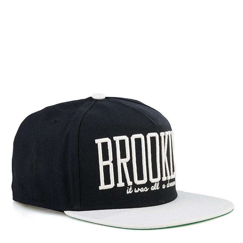 Кепка K1X Brooklyn Snapback CapКепки<br>Полиэстер<br><br>Цвет: Черный, белый<br>Размеры US: one