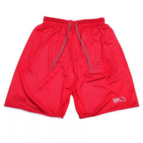 мужские белые, красные                        шорты k1x core reversible shorts 1400-0243/1600 - цена, описание, фото 2