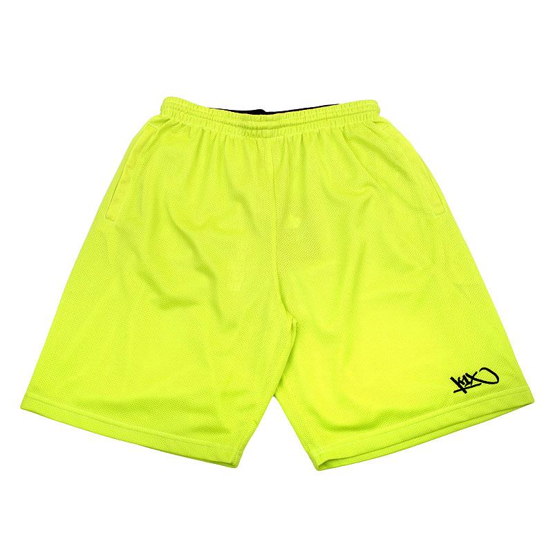 Шорты K1X Core Micromesh ShortsШорты<br>Полиэстер<br><br>Цвет: Лайм<br>Размеры US: 2XL<br>Пол: Мужской