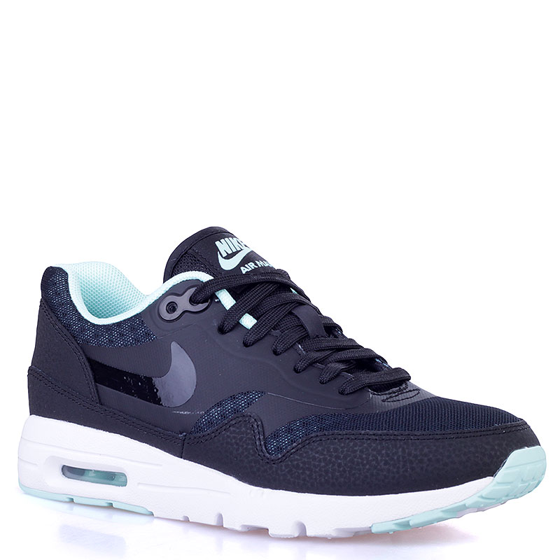 женские черные  кроссовки nike wmns air max 1 ultra essentials 704993-003 - цена, описание, фото 1